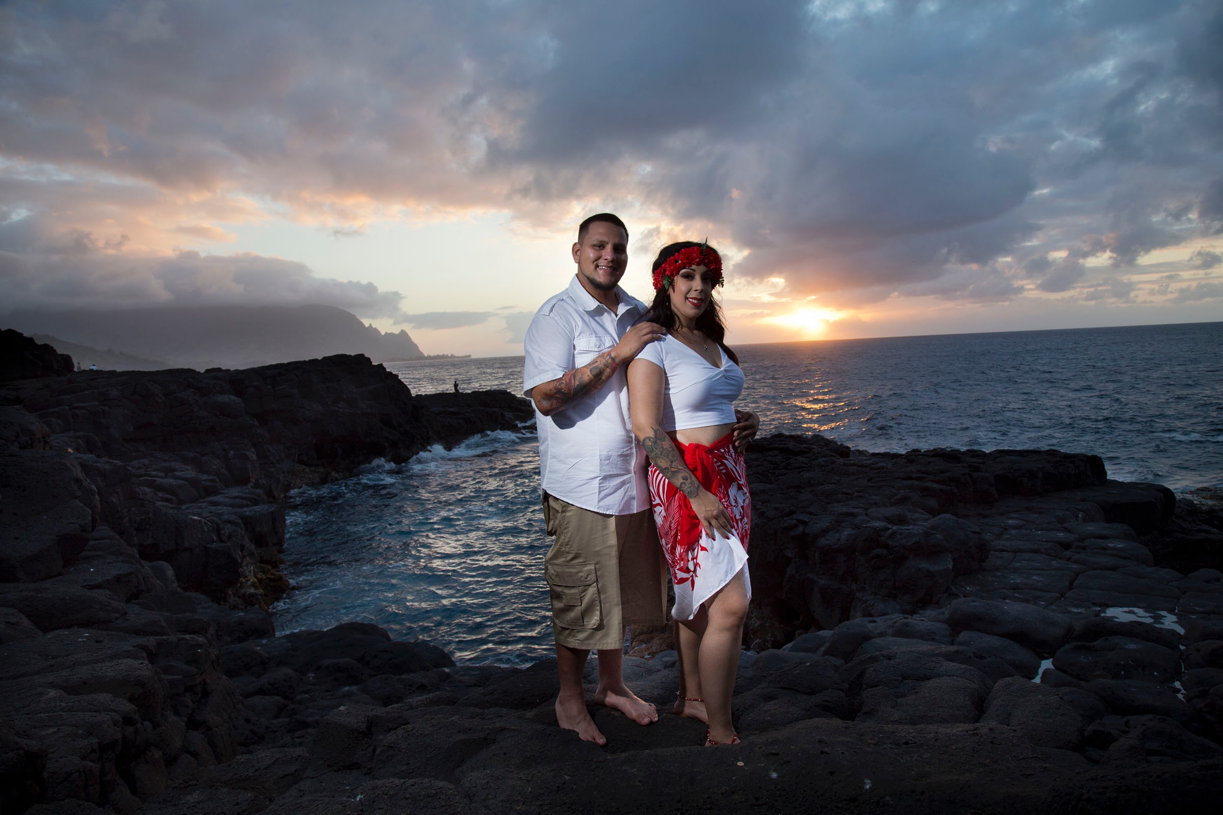Wedding videographer Difraser makes exciting Kauai wedding videos