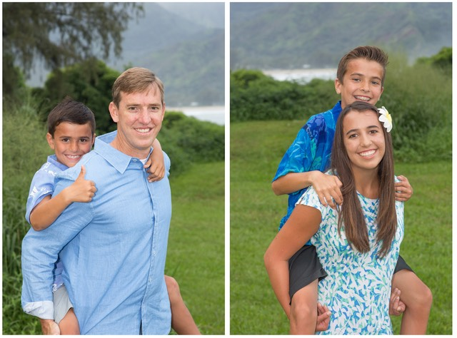 Family photographs by Kauai Video Productions