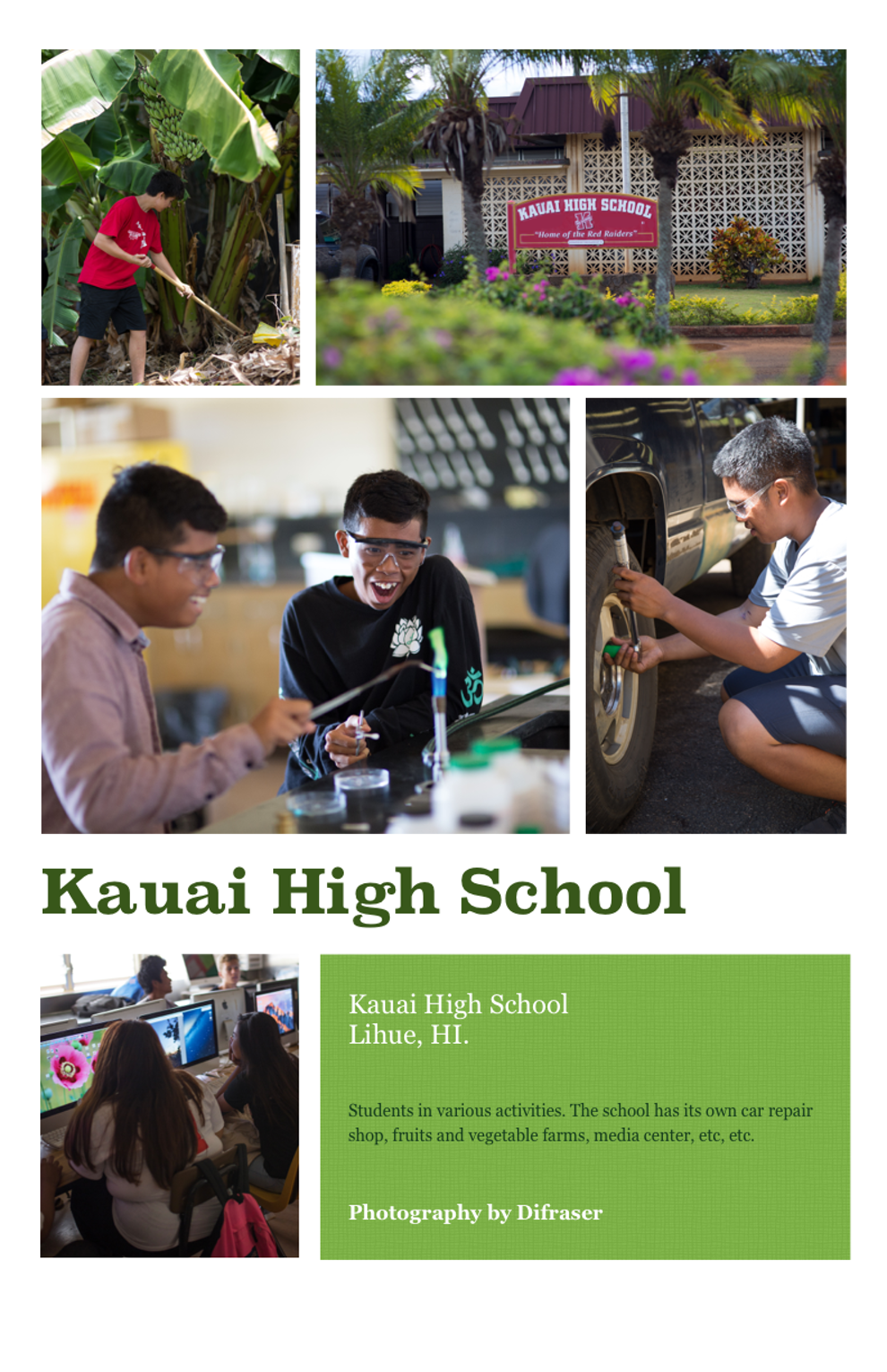 Kauai High School