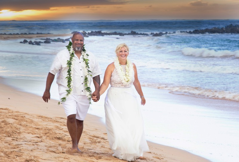 Kauai vow renewal after 20 years