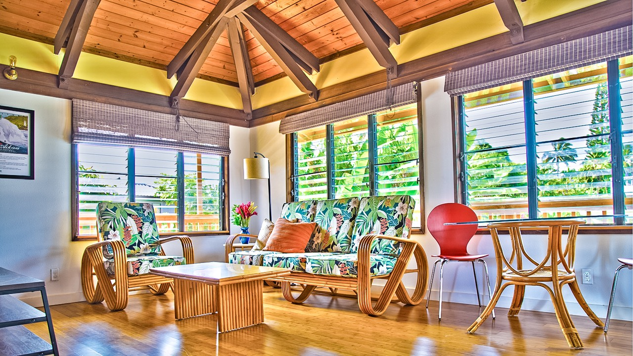 one bedroom vacation rental Kauai at Queens Bath